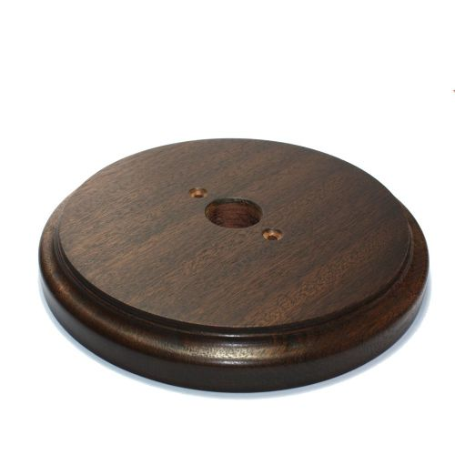 187mm Diameter Heavy Duty Sapele Pattress Waxed Finish